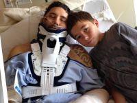13-latek uratował życie ojcu uderzonemu przez głaz. Zapewnił mu opiekę i sprowadził pomoc
