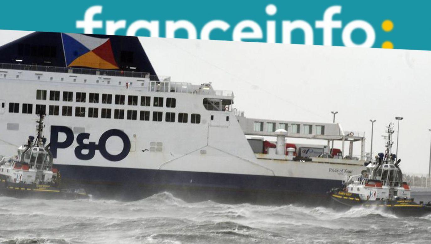 Radio France Info jako pierwsze podało, że nikt nie został ranny (fot. twitter.com/franceinfo)