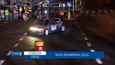 Transmisja z 54 Rajdu Barbórka 2016. sobota godz. 18.00.