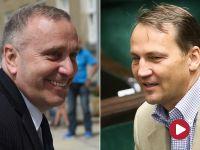Schetyna: to Sikorski przyznał order dyrektorowi Biedronki