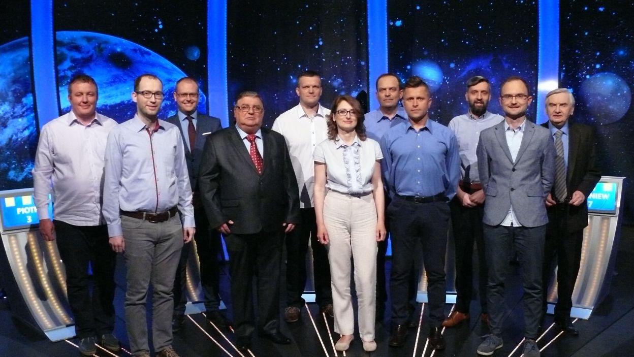Pani Małgorzata przybyła rozegrać wraz z męską częścią graczy 11 odcinek 107 edycji
