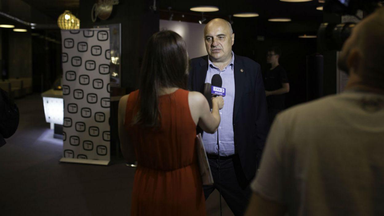 Były wywiady (fot. TVP)