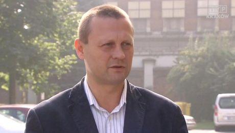 Szef małopolskiej PO Grzegorz Lipiec (fot TVP Kraków)