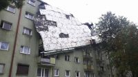 Zerwany dach w Bydgoszczy (fot.Twoje Info/Artur)