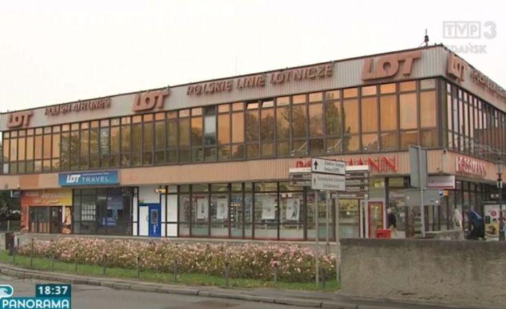 Kontrowersje wokół budynku LOT-u w Gdańsku