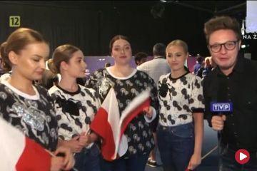 Tulia tuż przed występem na Eurowizji 2019