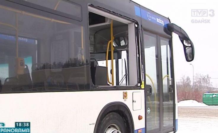 Z wiatrówki strzelał do autobusu z pasażerami