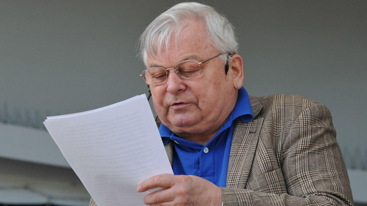 Conrada czytał także Krzysztof Gordon, aktor związany z Teatrem Wybrzeże (fot. N. Młudzik/TVP)