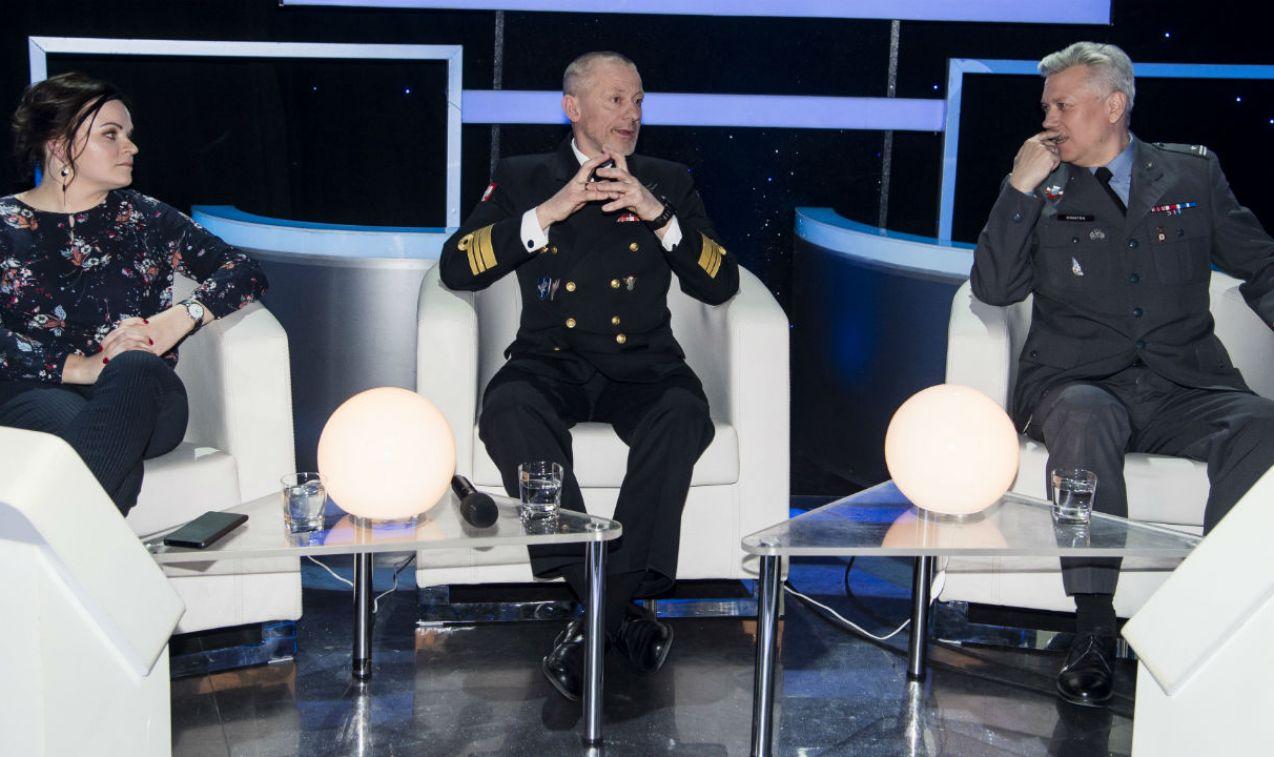 W Wielkim Teście udział wzięli goście specjalni: Teresa Usewicz, Zbigniew Kołakowski i Marek Kwiatek (fot. J. Bogacz/TVP)