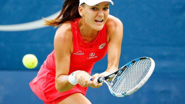 US Open: Radwańska lepsza w polskim meczu