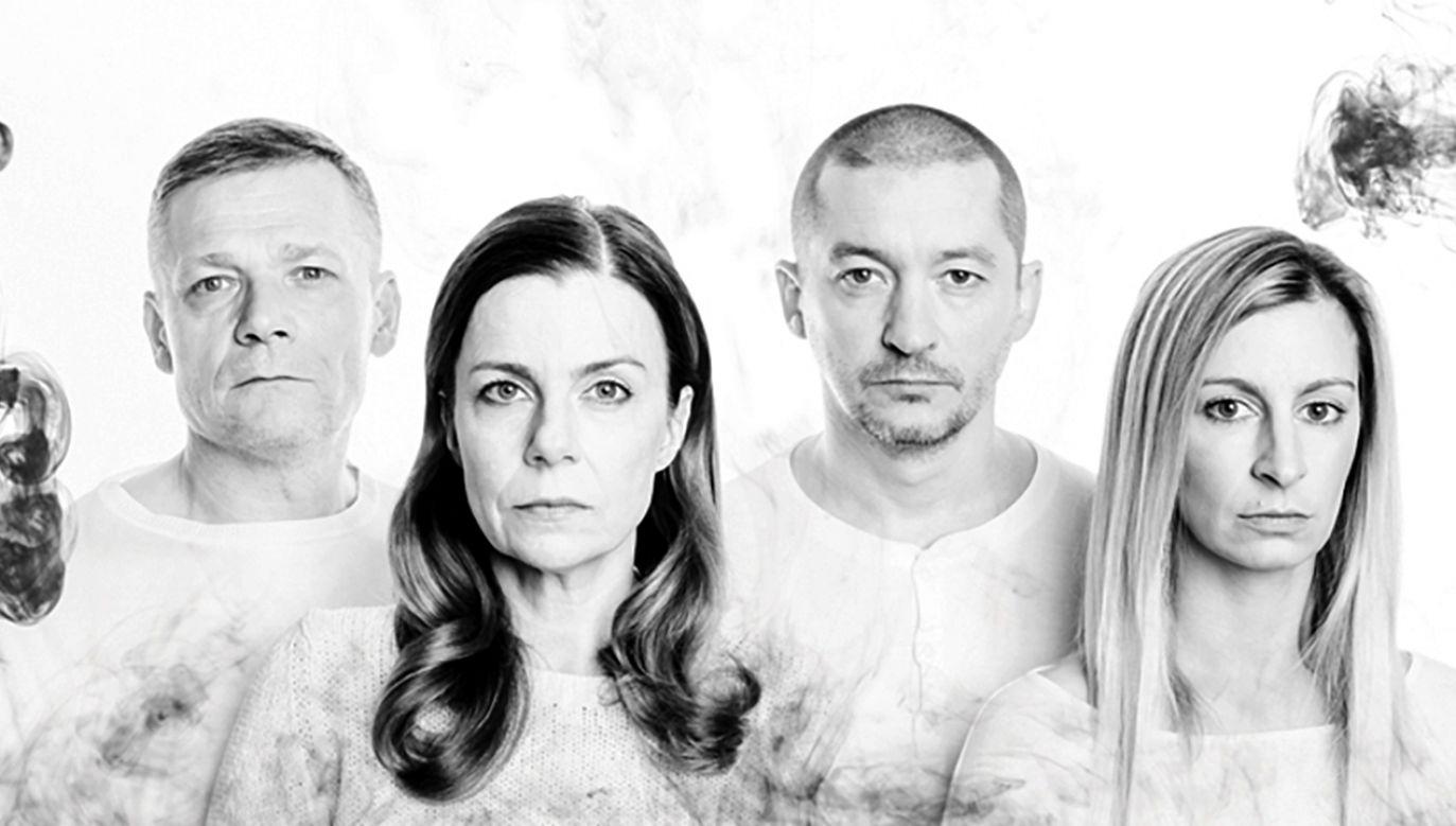 Sławomir Maciejewski, Agata Kulesza, Wojciech Brzeziński i Magdalena Schejbal (fot. mat. prasowe)