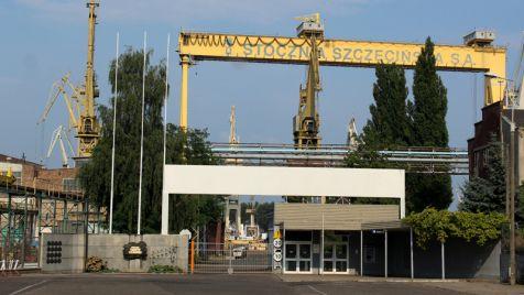 Stocznia Szczecińska przejęta (fot. Wikimedia Commons/Szczecinolog)
