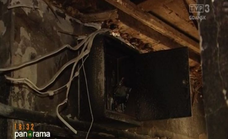 Groźny pożar w centrum Lęborku