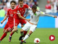 Puchar Konfederacji: Meksyk – Rosja (skrót)