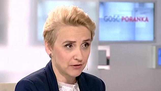 Joanna Scheyring-Wielgus (fot,TVP Info)