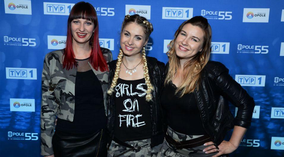 Girls on Fire rozpalą scenę podczas koncertu Debiuty (fot. J. Bogacz/ TVP)