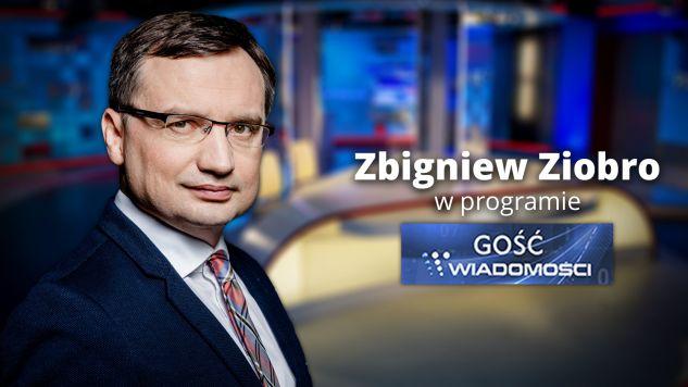 Zbigniew Ziobro będzie gościem TVP (fot. graf. tvp.info)
