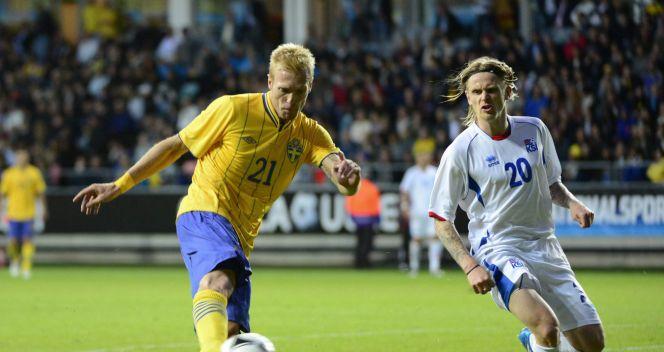 Christian Wilhelmsson strzela gola na 3:1 (fot. PAP/EPA)