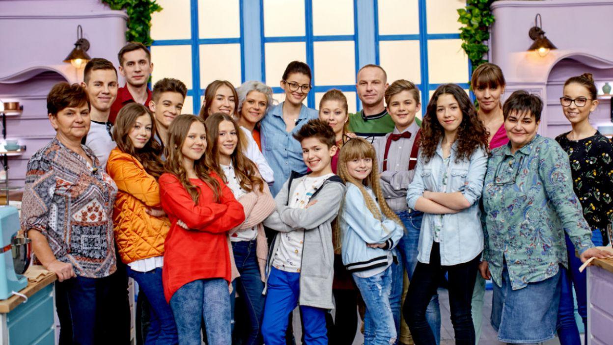 """Na ciastka wpadli goście, czyli dzieciaki z """"The Voice Kids""""  (fot. TVP)"""