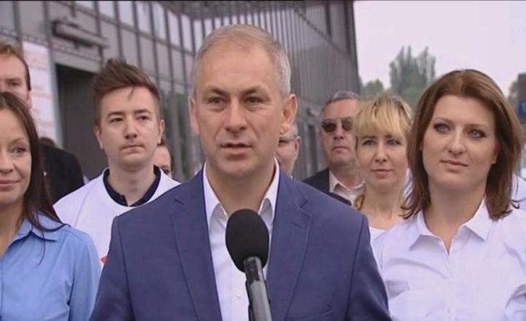 Grzegorz Napieralski na czele nowej partii