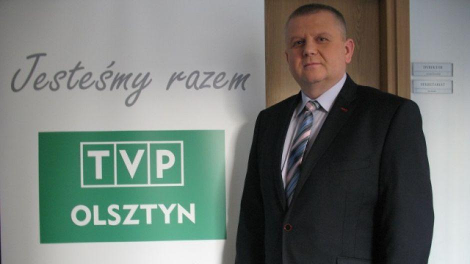 Jerzy Salitra, członek zarządu Warmińsko - Mazurskiej Izby Rolniczej.