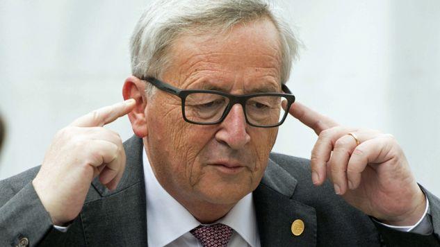 Szef Komisji Europejskiej Jean-Claude Juncker (fot. PAP/EPA/STEPHANIE LECOCQ)