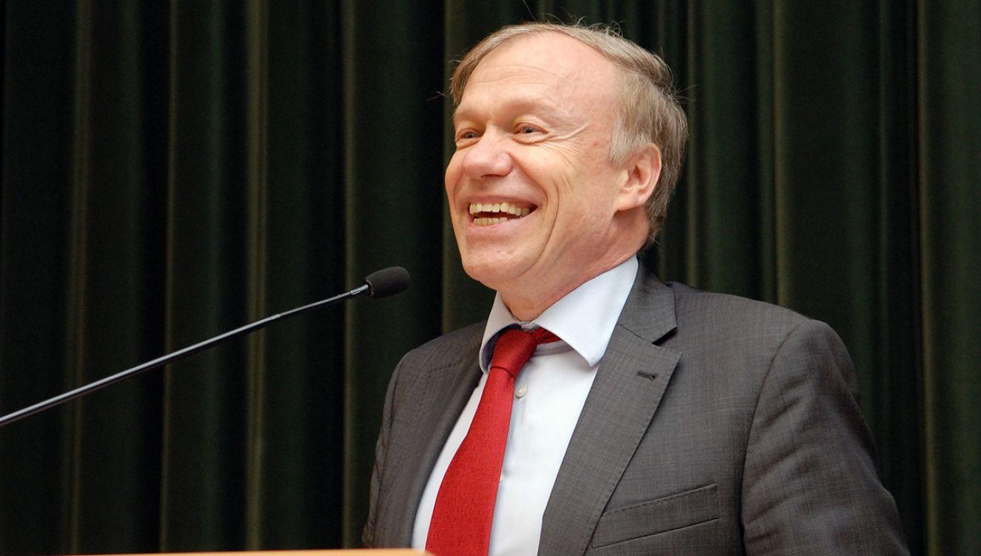 Rolf Nikel (fot. Flickr/ SGH Warsaw School of Economics)