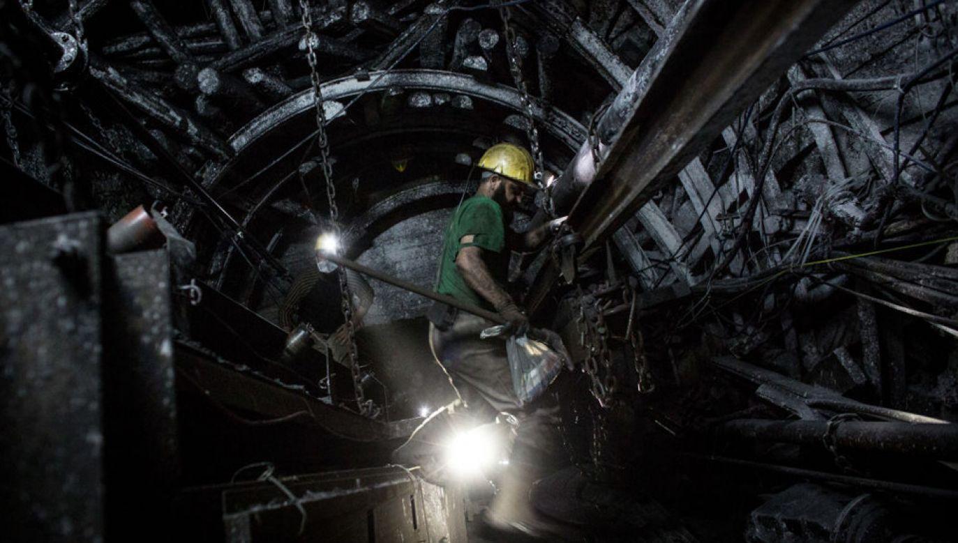 Pod koniec listopada ub.r. w kopalniach węgla kamiennego pracowało ok. 87,2 tys. osób (fot. Chris McGrath/Getty Images)