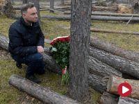 Prezydent Duda odwiedził tereny, przez które przeszła ubiegłoroczna nawałnica