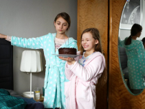 Zimne ognie zamiast świeczek? W kuchni liczy się kreatywność! Marcin będzie wzruszony zachowaniem dziewczynek (fot. TVP)