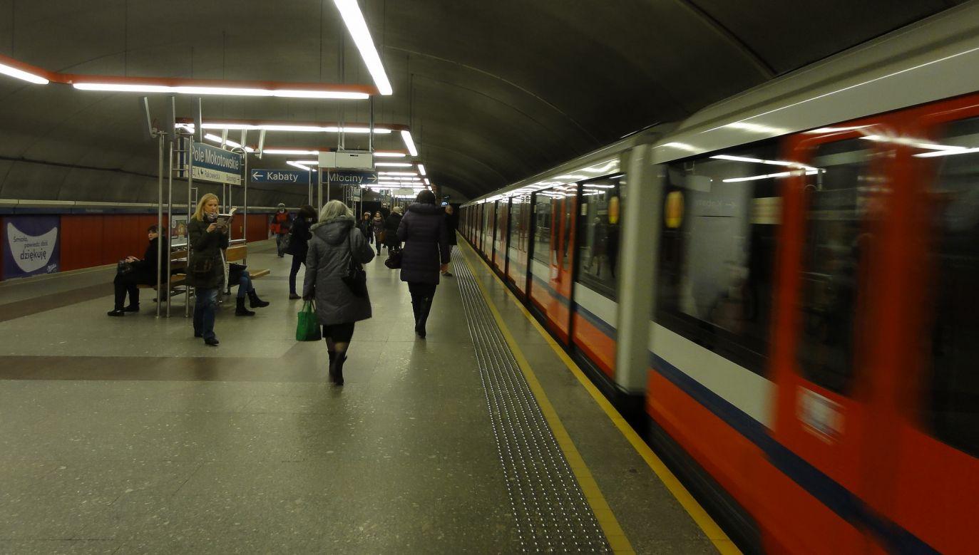 Do incydentu doszło w warszawskim metrze (flickr.com/ Guillaume Speurt)