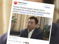 Chiński prawnik przyznał się do działalności wywrotowej. NGO: był torturowany