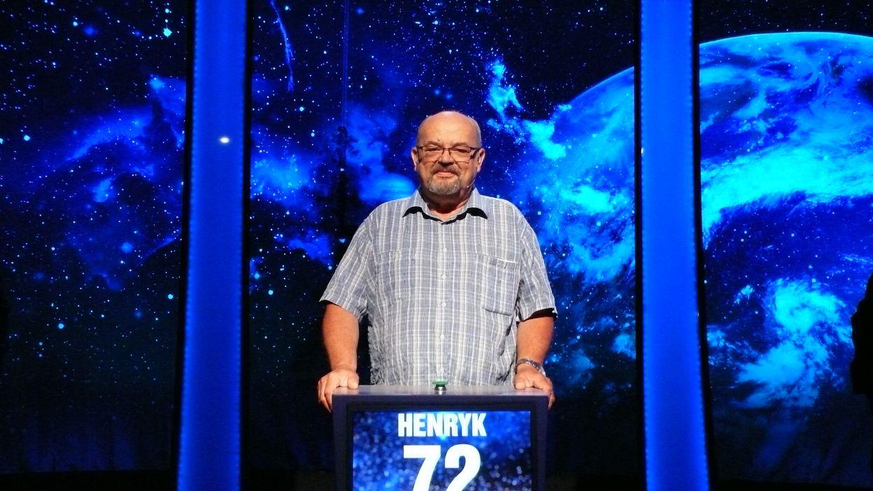 Henryk Obszański - zwycięzca 20 odcinka 100 edycji