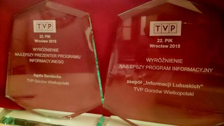 """Jury doceniło Agatę Sendecką i serwis """"Informacje Lubuskie"""""""