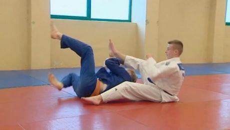 Zamiast futbolu wybrał judo. Mimo młodego wieku już odnosi sukcesy