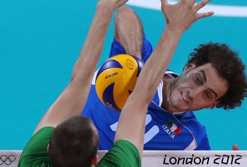 Alessandro Fei w meczu o brąz zaprezentował się świetnie (fot. PAP/EPA)