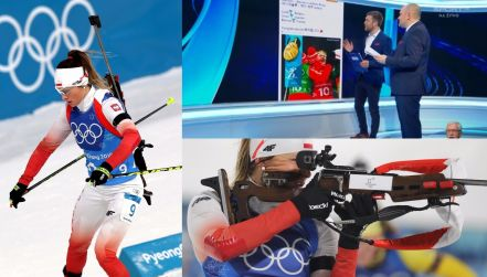 Co w sieci piszczy? #JestemZNowakowską Biathlonistki rozgrzały internet!