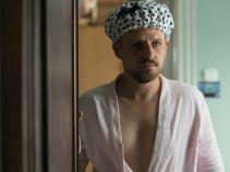 """Tymczasem w domu Małeckiego słychać pukanie do drzwi... Czy to jego ukochana """"Trytytka""""? (fot. A. Grochowska)"""
