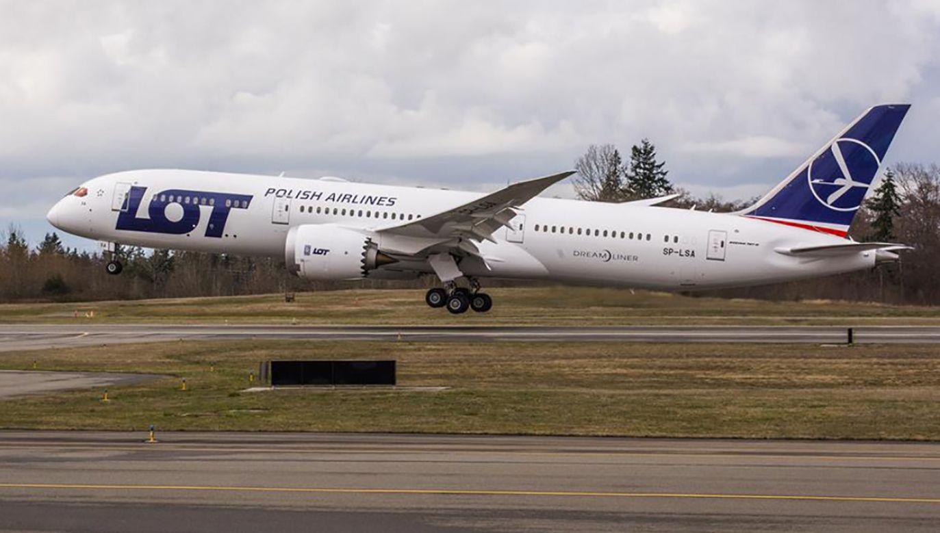Nowy dreamliner zabierze na pokład 294 pasażerów (fot. fb/LOT Polish Airlines)