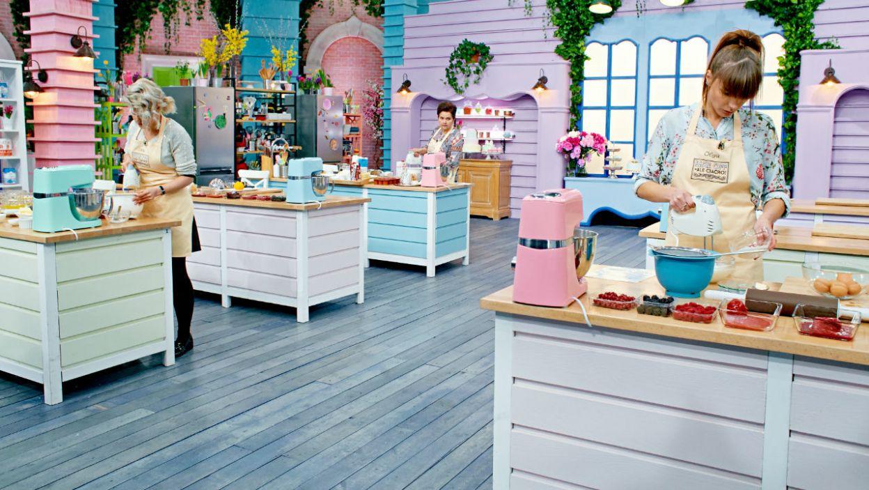 W słodkiej kuchni panowało skupienie (fot. TVP)