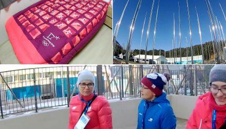 Z kamerą w wiosce olimpijskiej. Gdzie zamieszkają sportowcy?