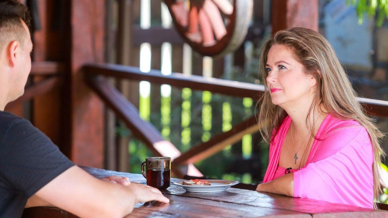 – Nie boję się jej – Monika jest przekonana, że nie ma konkurencji (fot. TVP)