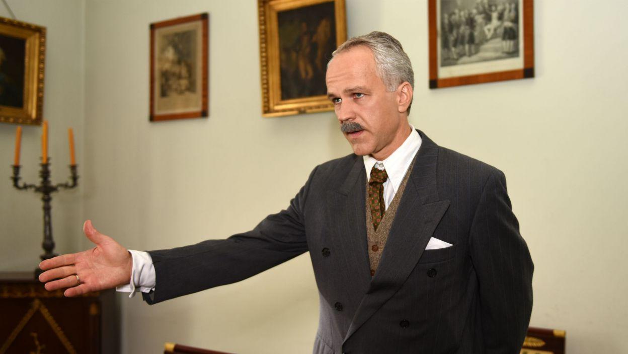 Radosław Pazura zagrał Kazimierza Papée, ambasadora Rzeczypospolitej Polskiej przy Stolicy Apostolskiej (fot. Agata Ciołek)