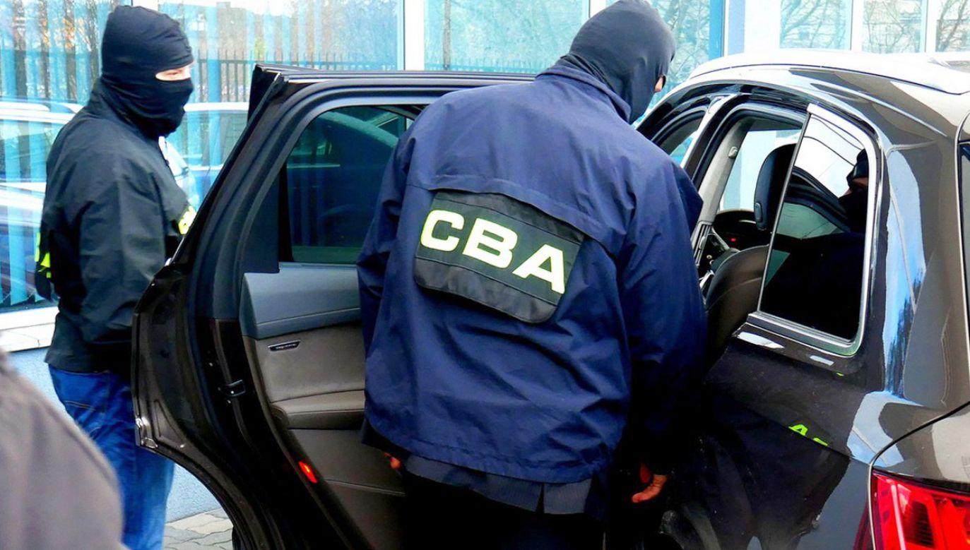 Funkcjonariusze prowadzą to śledztwo pod nadzorem Prokuratury Krajowej w Katowicach (fot. cba.gov.pl)