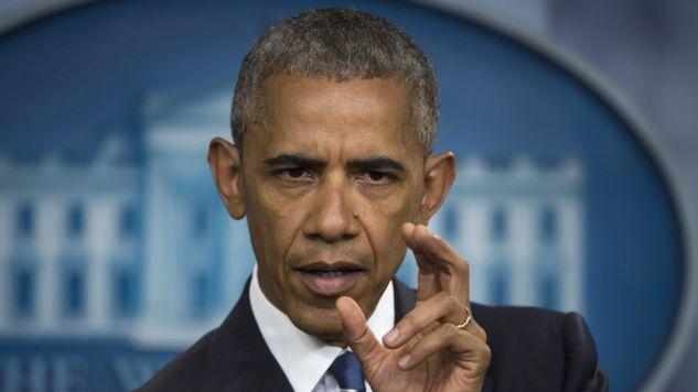 Prezydent USA Barack Obama o Brexicie (fot. PAP/EPA/MOLLY RILEY)