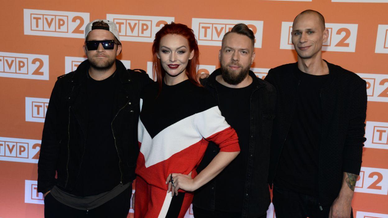 Zespół Red Lips z wokalistką Joanną Lazer (fot. J. Bogacz)