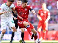 Szczęśliwy triumf Bayernu. Nieskuteczny