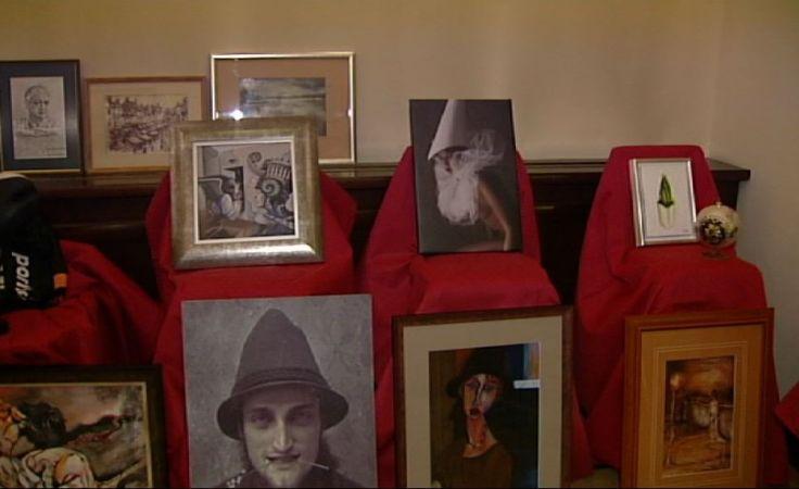 Artyści przeznaczyli na aukcję wiele swoich prac.