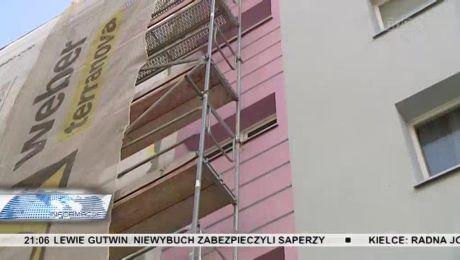 Tragedia na budowie. Ukraiński robotnik spadł z rusztowania, zmarł w szpitalu