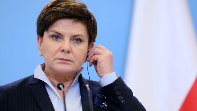 Premier Beata Szydło (fot. PAP/Leszek Szymański)